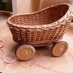 Puppenwagen repariert
