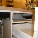 Detailansicht Waschtischunterschrank