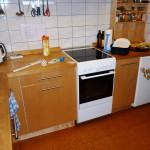 Vorhandene Küche umgebaut vorher