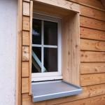 Fassadenverschalung - Detail