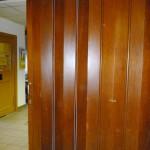 Falttür - aufgearbeitet und repariert