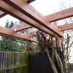 Austausch der vorhandenen Terrassenbalken neu